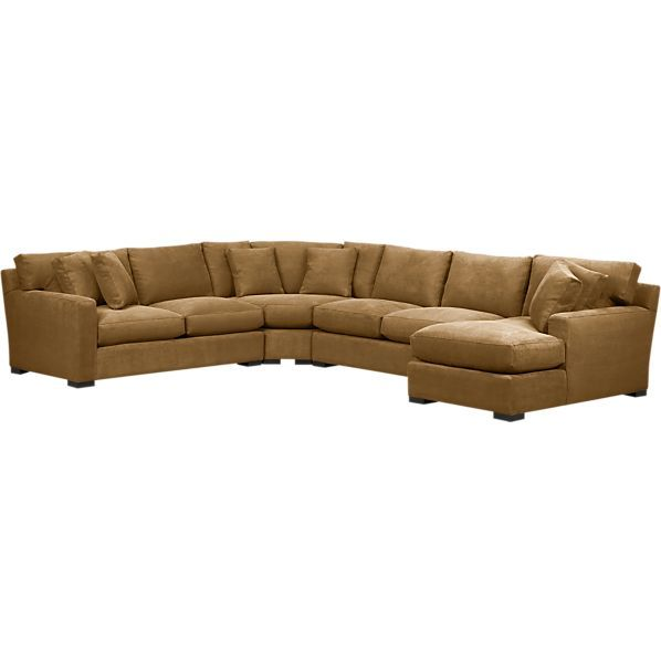 Wedge Sectional Sofa Geoffrey Alexander 2062 Customizable