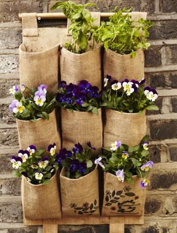 17 Best images about Garden on Pinterest Burlap bags Bags and