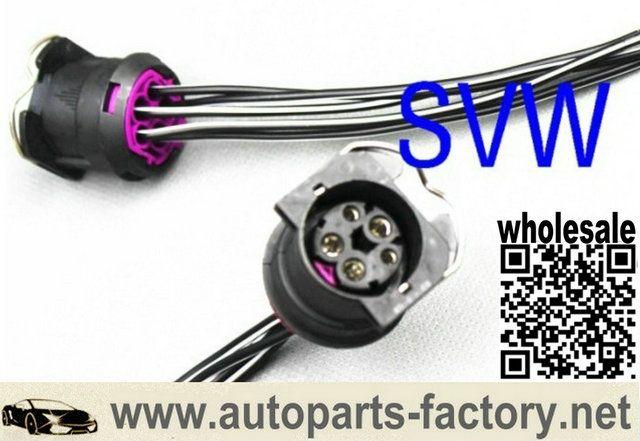 Longyue Longyue Factory Sale 50pcs 5 Pin Way Vw Passat Headlamp Wiring Harness Adapter Socket 6 Vw Passat Headlamp Sockets