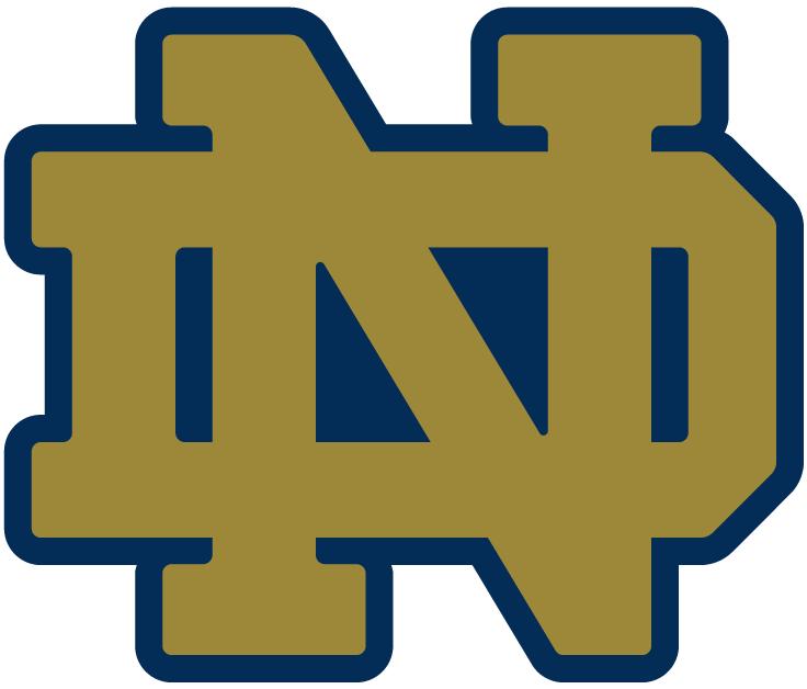 Nd Logo For Garage Canvas College Football Logos Notre Dame Fighting Irish Football Notre Dame Fighting Irish