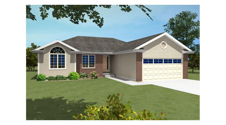 NV00305 - Ranch   New Ventures - Custom Home Designs ...