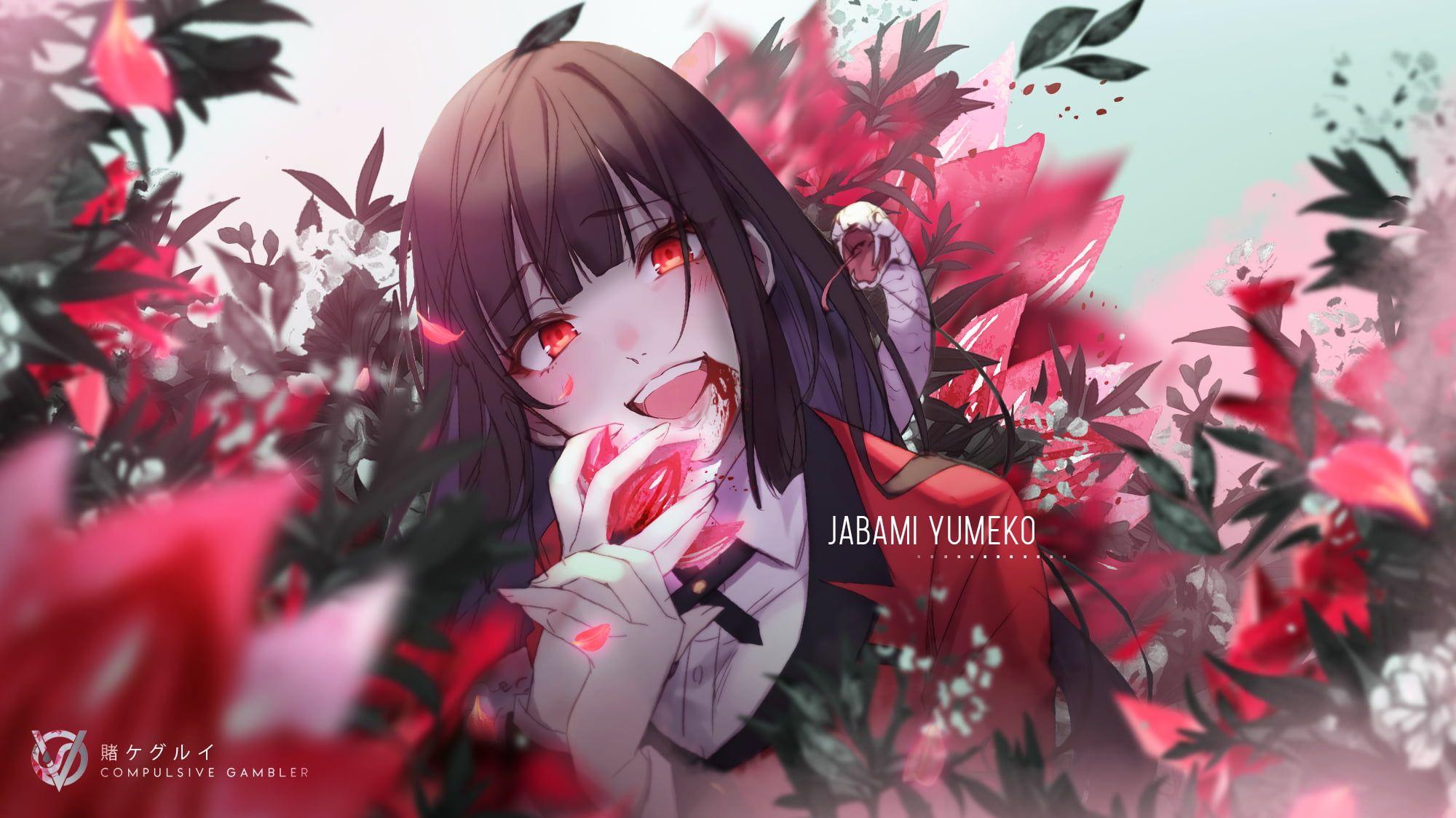 HD wallpaper: Anime, Kakegurui, Yumeko Jabami