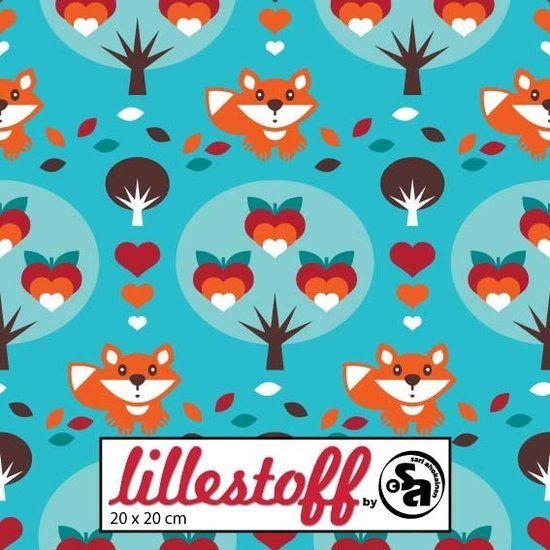 Lovefall Tricot (Jersey) van Lillestoff -Juffertje Uil