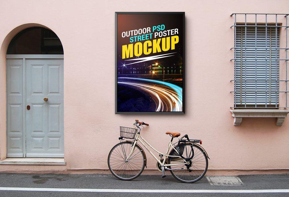 Street Poster Mockup Poster Mockup Free Poster Mockup Poster Mockup Psd