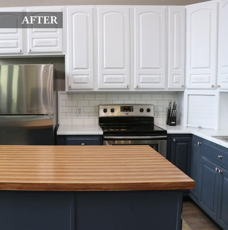 Giani Butcher Block Countertop Paint Kit In 2020 Small Kitchen