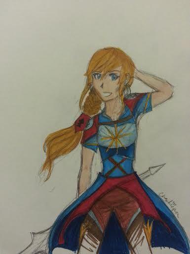 Sword Art Online (Colored, prismacolor marker) ~Cheshirepen~