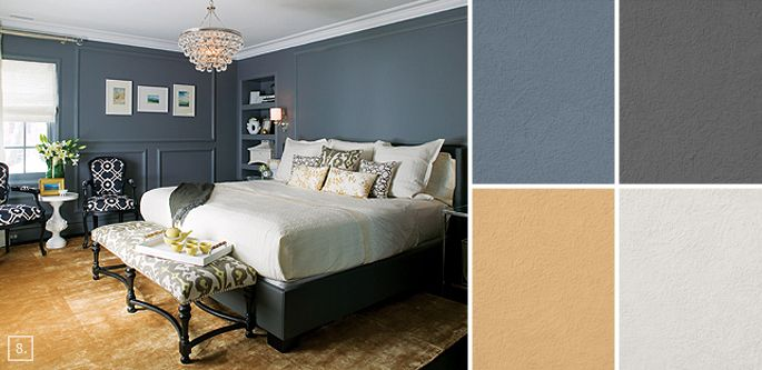 bedroom color ideas paint schemes and palette mood board - Bedroom Paint Colors And Moods