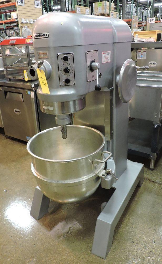 Hobart H600t Commercial 60 Quart Dough Mixer W Timer 3ph Mixer Restaurant Equipment Kitchen Aid Mixer