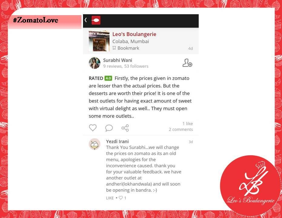 Thank you surabhi wani for such a lovely feedback zomatolove thank you surabhi wani for such a lovely feedback zomatolove stopboris Image collections