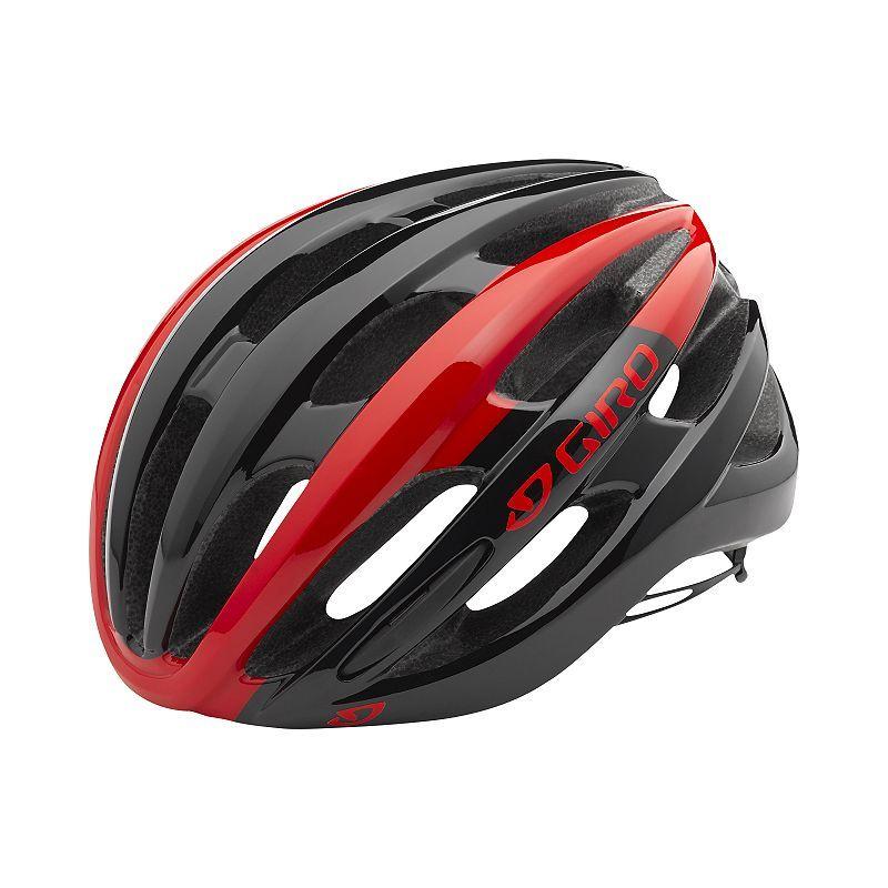 Giro Foray Helmet Red Black Cycling Helmet Helmet Bike