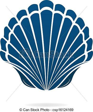 Seashells Vector Scallop Shells Art Images