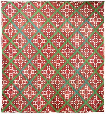 1940's Flying Geese quilt