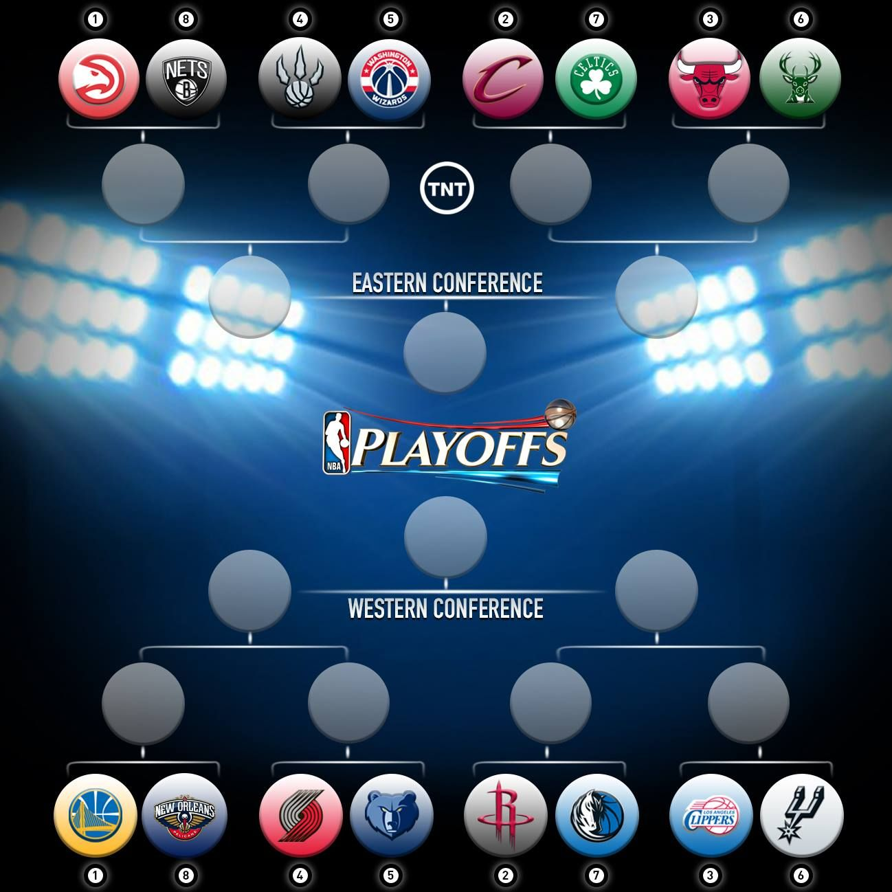 It's playoff time in the NBA meaning that basketball fans