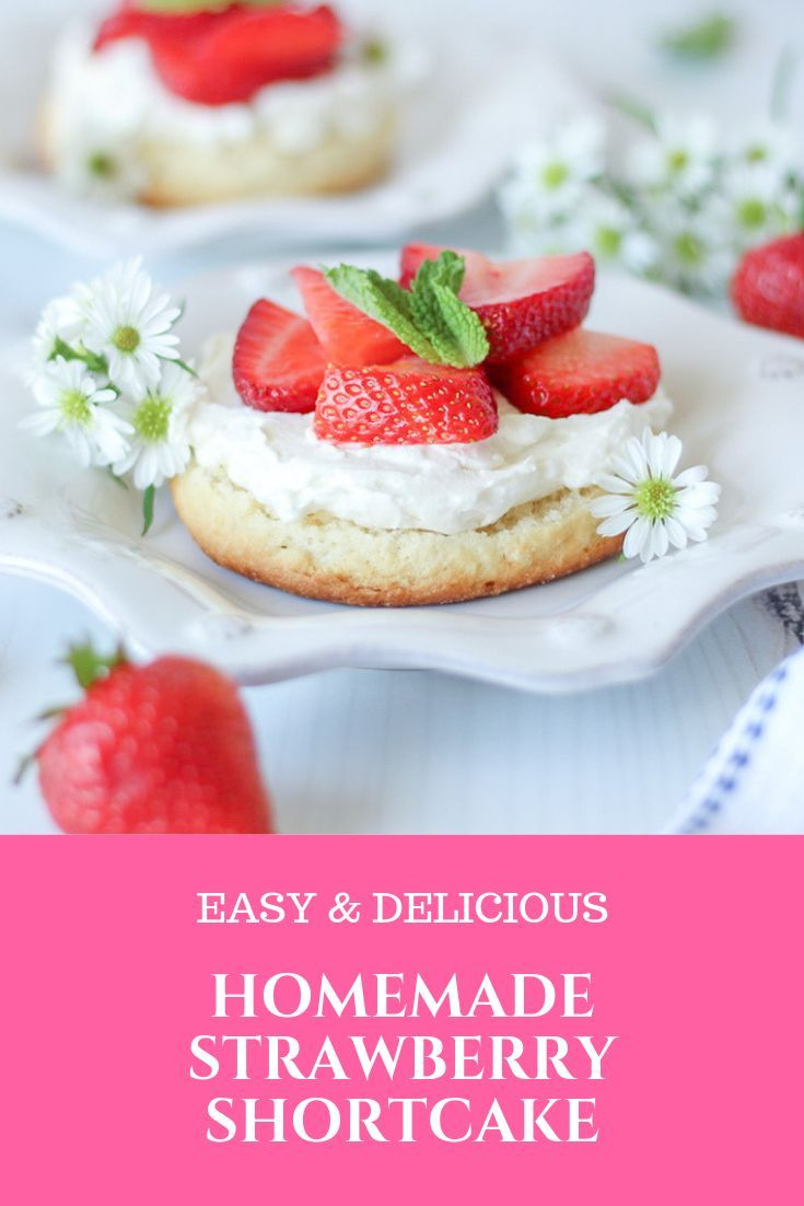 Homemade Strawberry Shortcakes images