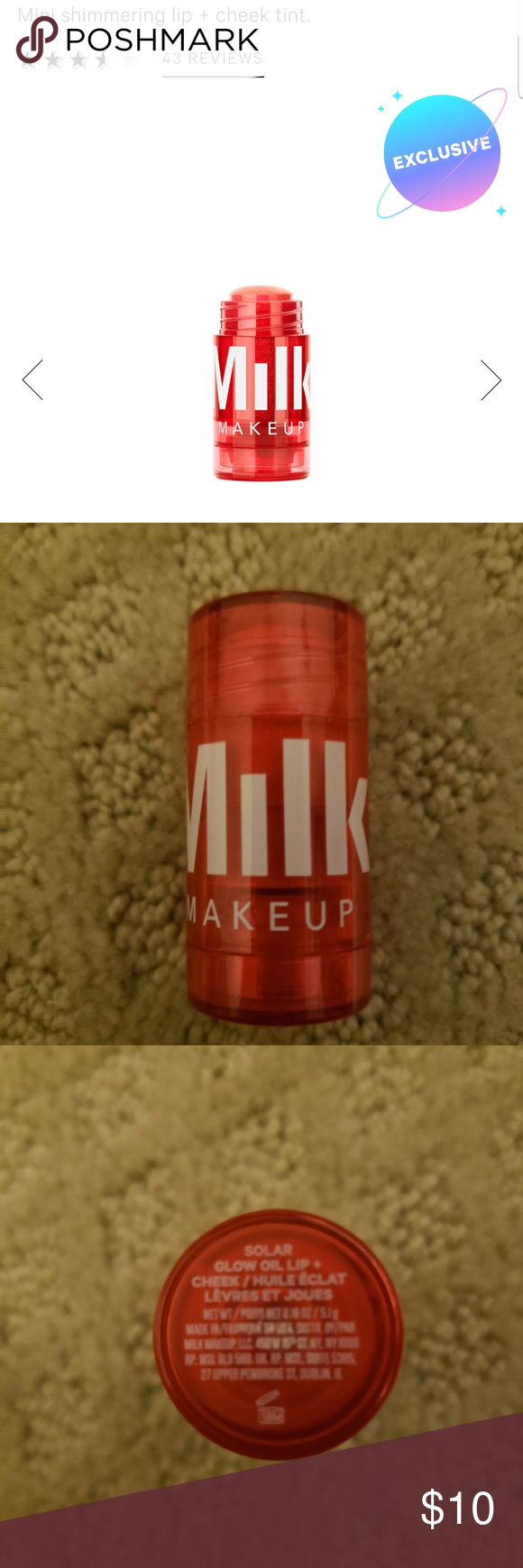 Milk makeup glow oil in Solar Milk makeup, Blush makeup