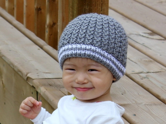 Knitting Pattern Only - Mock Cables Baby Hat  951ce7decde