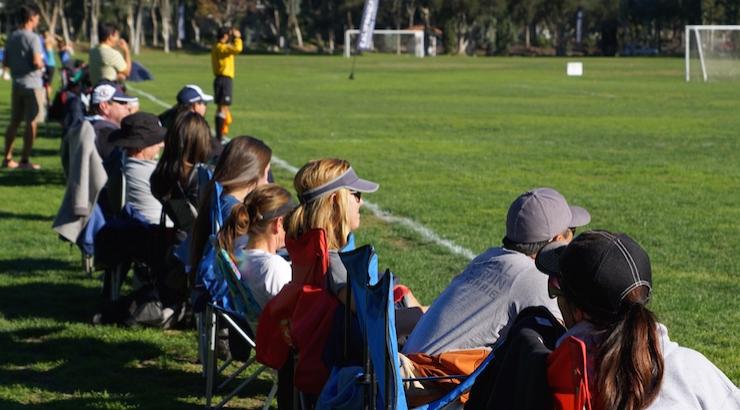 Parents On The Soccer Sideline