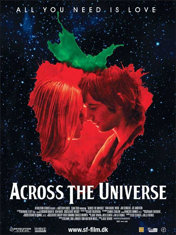 across the universe movie posters at moviegoodscom