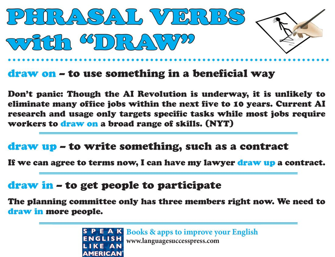 Enjoy These Useful English Phrasal Verbs Esl