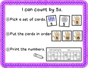 counting by 5s canadian teacher resources counting in 5s skip counting counting. Black Bedroom Furniture Sets. Home Design Ideas