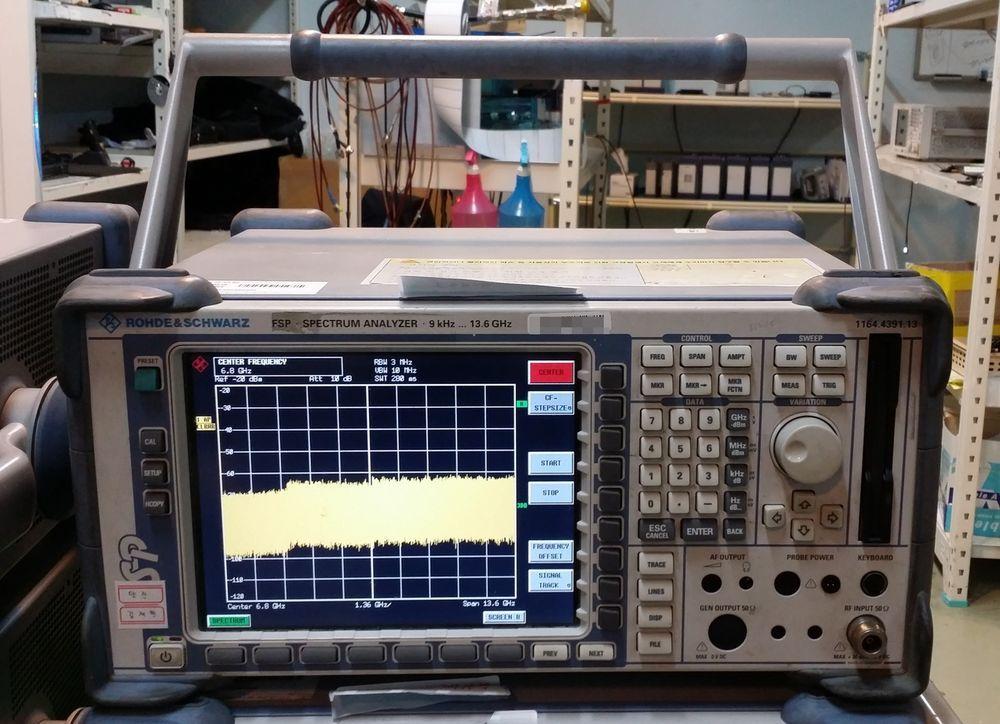 R&S FSP-13 RF Spectrum Analyzer 9KHz to 13 6GHz, Attenuator