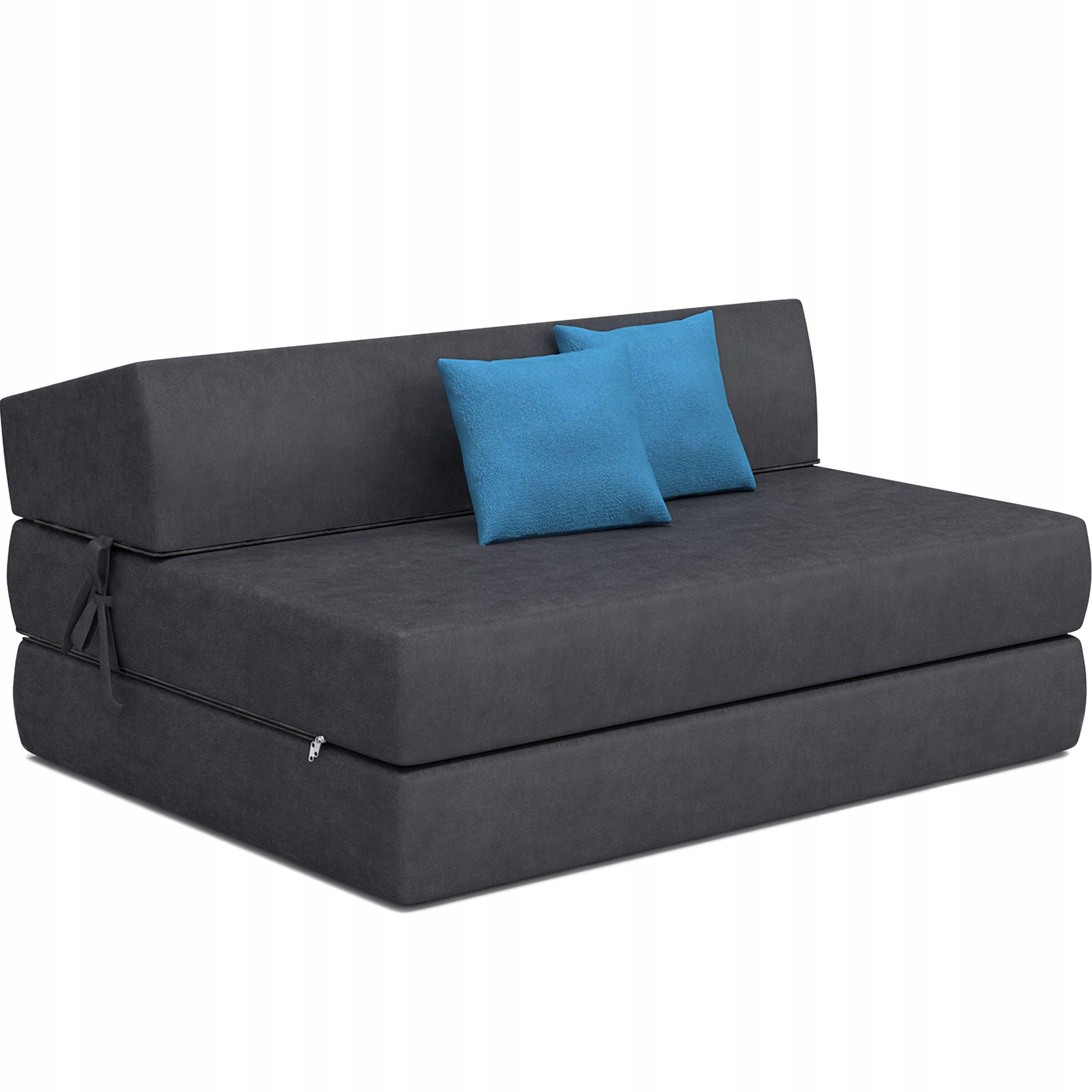 Fotel Kanapa Rozkladany Materac Sofa Z Poduszkami Furniture Storage Bench Decor