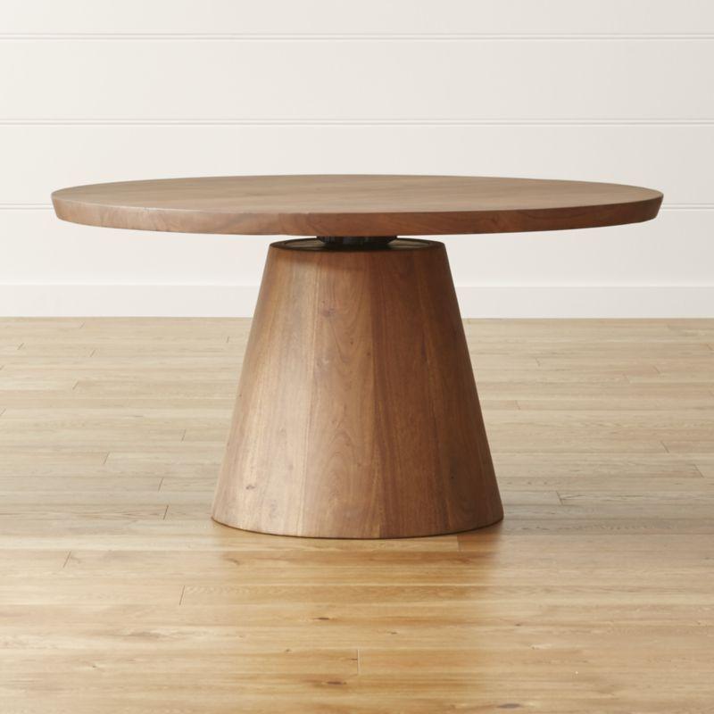 revolve 48 round adjustable height dining table in 2019 kitchen rh pinterest com  adjustable height kitchen work table