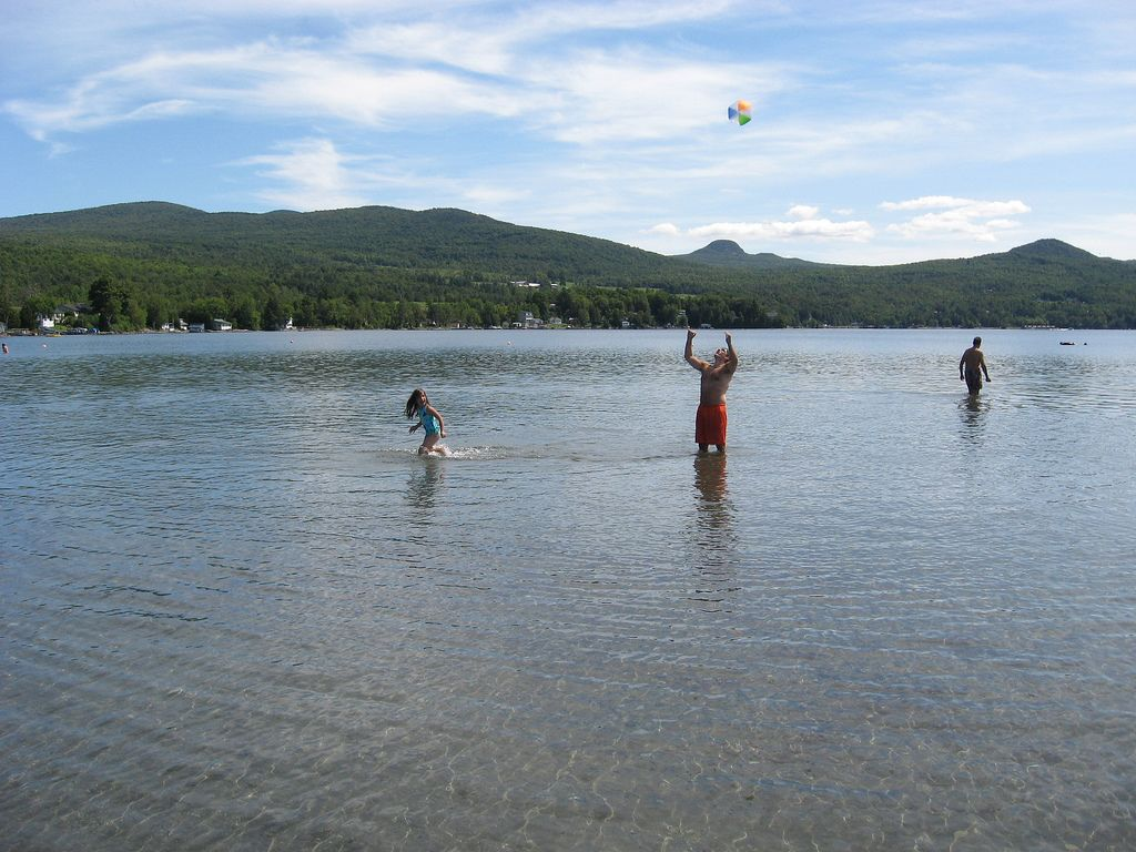 Swimming Vermont Lake Willoughby East Burke It S So Deep Clean