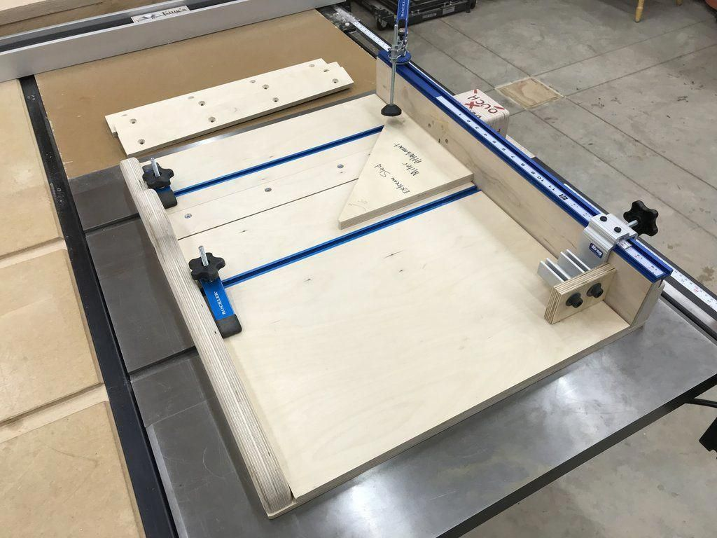 Plans For The Extreme Crosscut Miter Dado Table Saw Sled King S Fine Woodworking Inc Ni Woodworking Projects That Sell Table Saw Sled Used Woodworking Tools