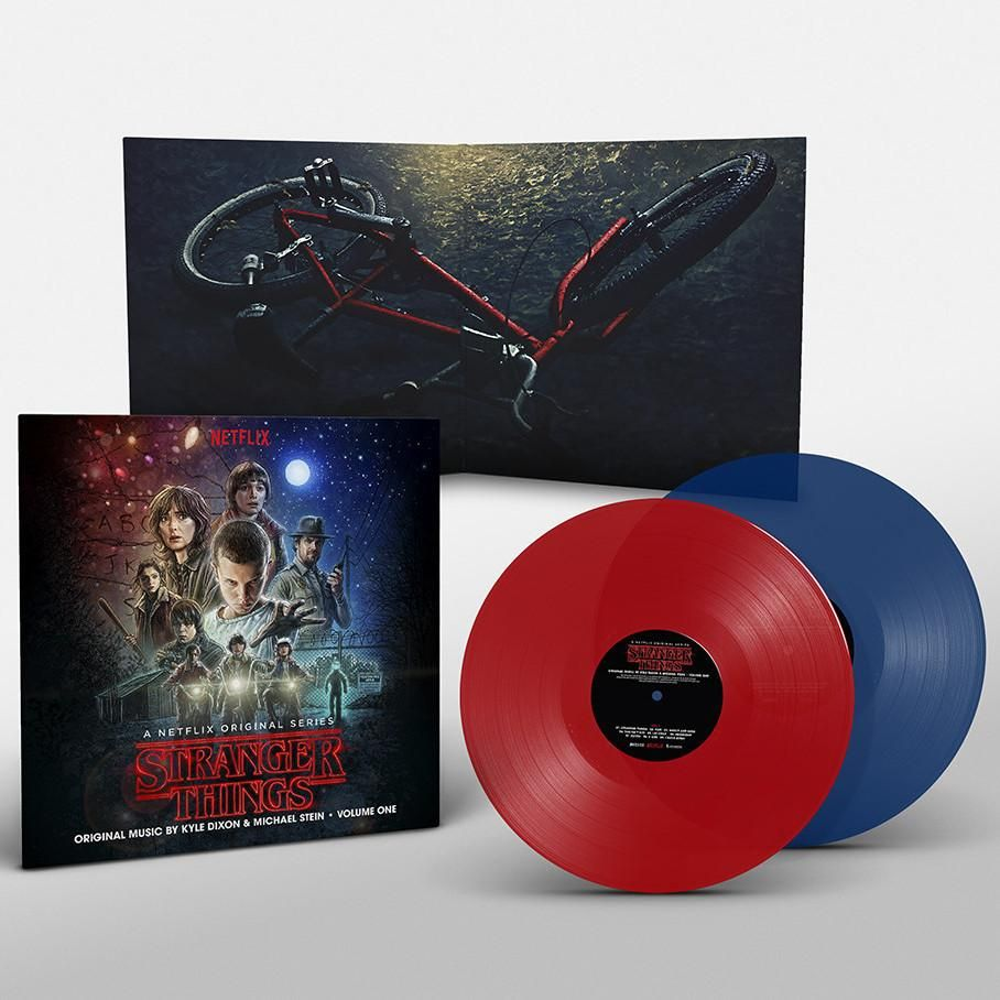 Stranger Things Volume 1 (2xLP) Retail Variant One red