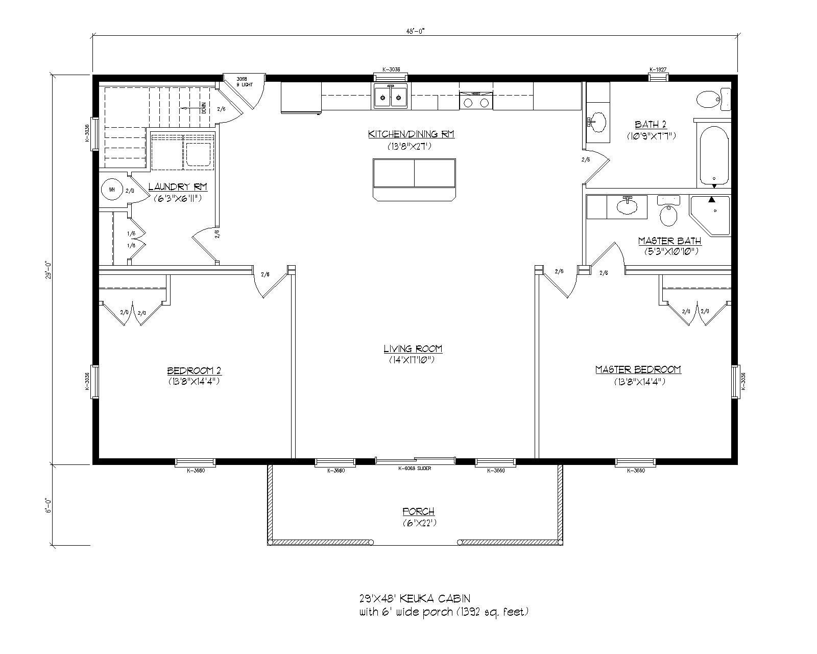 Floor plans prefab cabins and modular log homes wood for Prefab guest homes