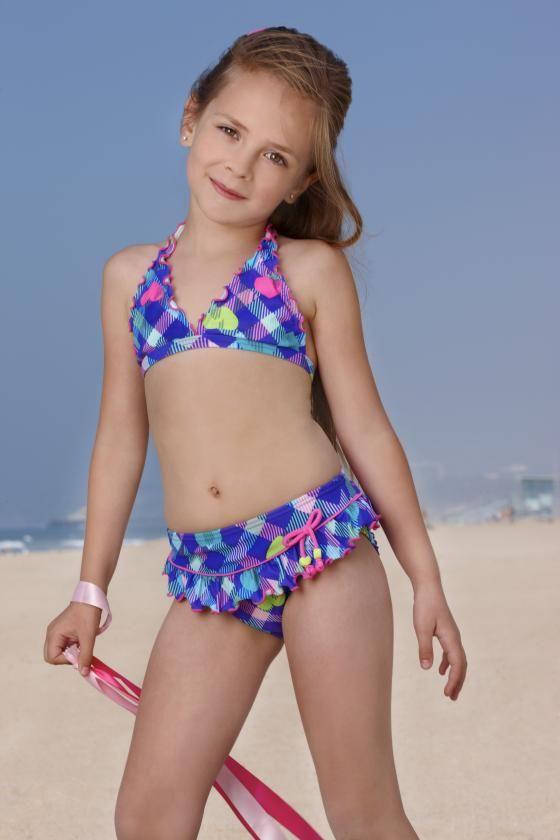 Gossip Girls Swimwear Heart Bikini Size 4 - 6X  5644e8711