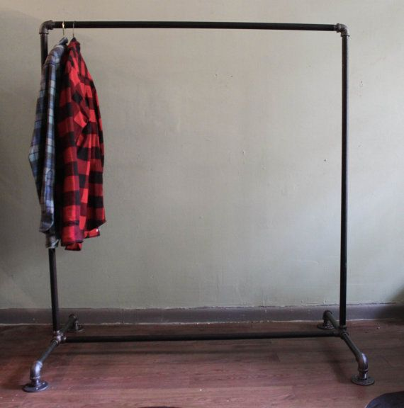 Attirant Industrial Clothing Rack