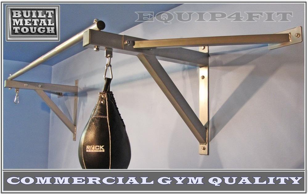 Wall Mounted Chin Up Pull Up Bar Boxing Punching Bag