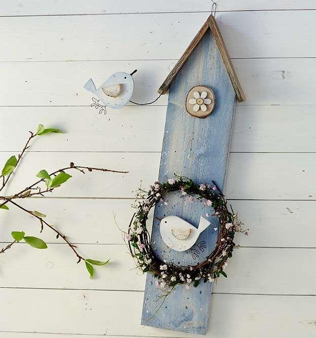 Bunte Figuren aus Holzlatten (kreativ.kompakt.) #dekoeingangsbereichaussen