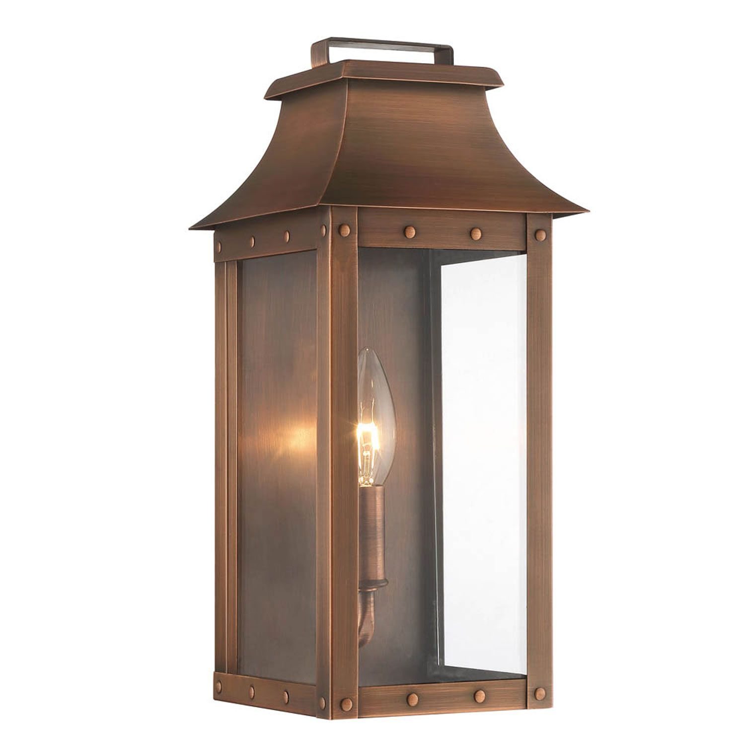 Acclaim Lighting Manchester Copper Patina e Light Outdoor Wall