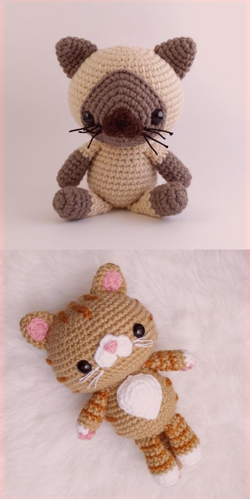 Amigurumi Knitting (Amigurumi) Hello Kitty Cat Making Part 4 – Arm ... | 1596x800