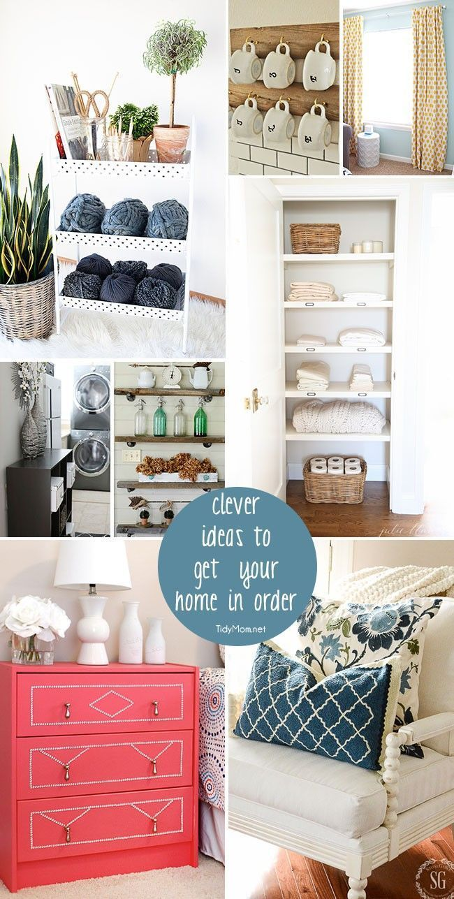Clever Ideas to Get Your Home in Order | Clever and Organizations