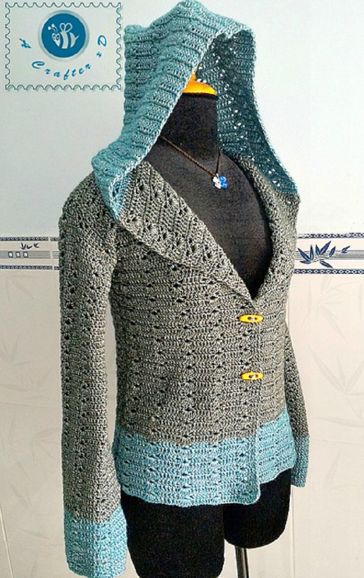 Free Pattern] This Hoodie Is The Perfect Way To Get The Girl Next ...