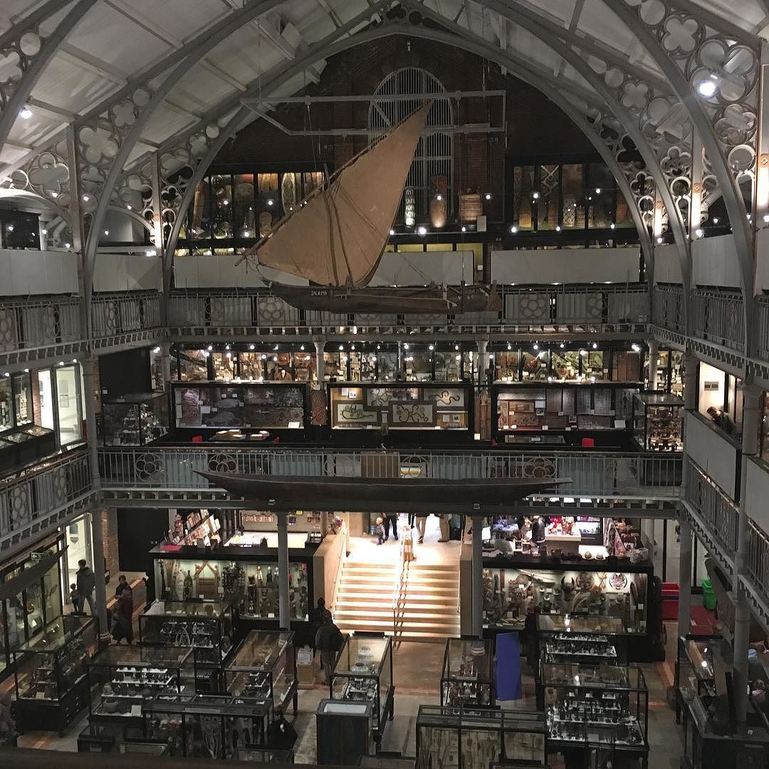 Explored Pitt Rivers Museum today what an incredible place. I could take camp and stay for weeks looking and finding. Inspires me to create. #aliceblogg