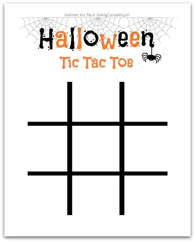 10b9714cc Halloween Tic Tac Toe (free printable!)