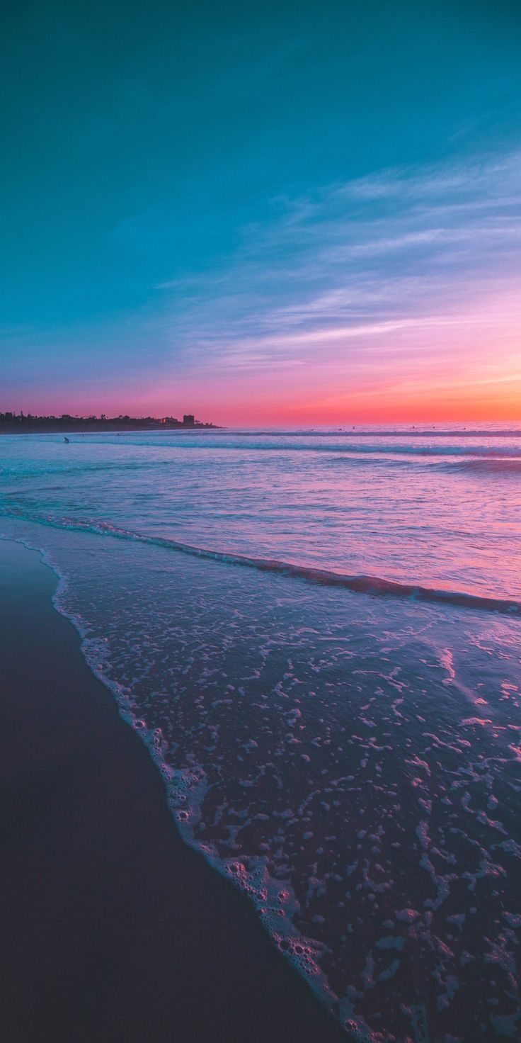 Which One Do U Prefer Normal Sea Or Magical Sea As This Nature Wallpaper Aesthetic Wallpapers Sunset Wallpaper