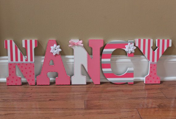 Personalize Any Room Letters Are Custom Made To Order Using A