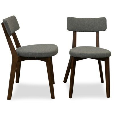 Union Rustic Abbeville Upholstered Dining Chair Upholstery ...