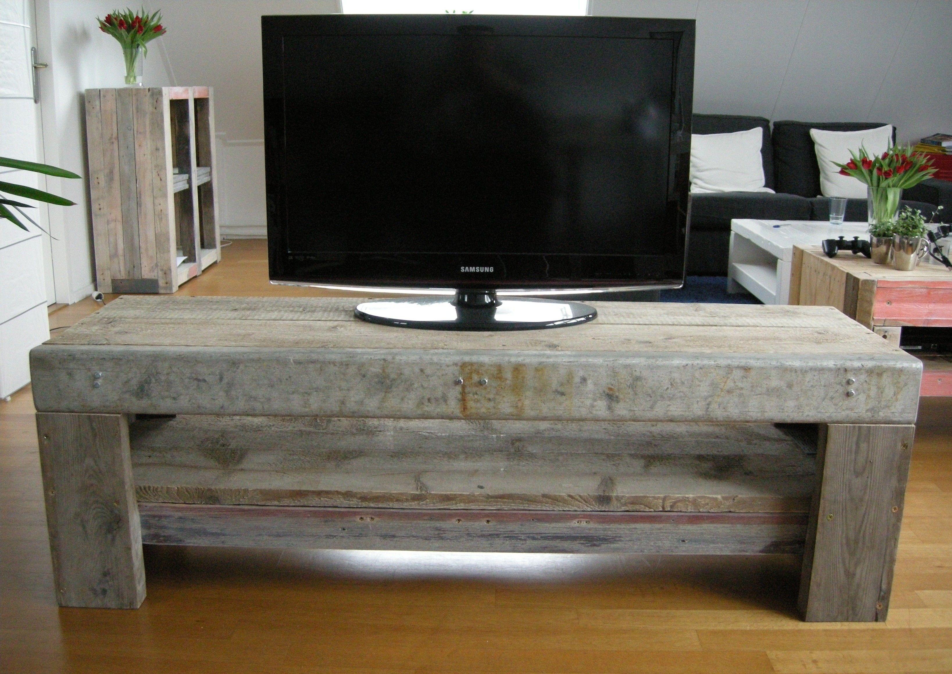 Marktplaats Tv Kast : Industrieel tv meubel van sloophout steigerhout en metaal te