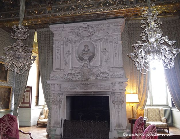 Fireplace at chateau de brissac loire valley loire valley pinterest france and castles