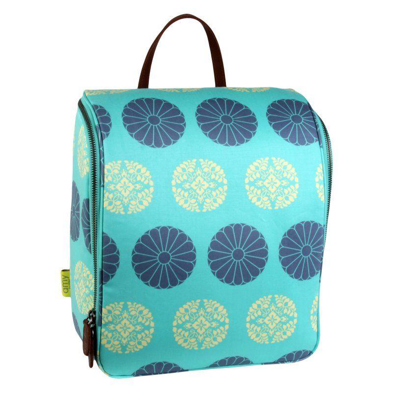 Amy Butler for Kalencom Sweet Traveler - Pressed Flowers Mint - AB110-PRESSFLOWMINT
