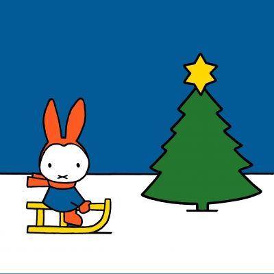 nijntje kerst zoeken kerstmis kleurplaten