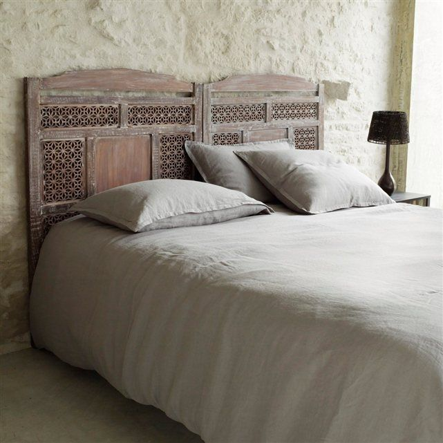 t te de lit fa on moucharabieh gasp la redoute. Black Bedroom Furniture Sets. Home Design Ideas