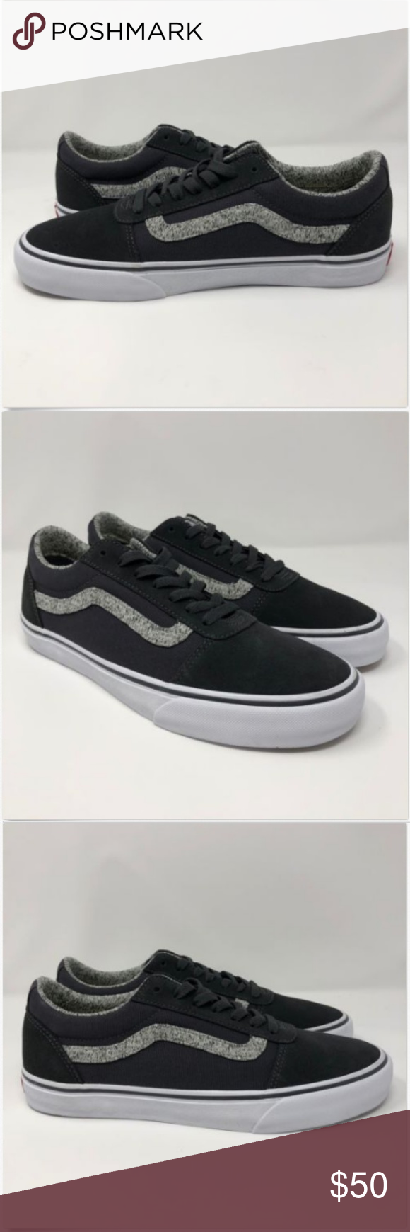 Vans Mens 9 Shoes Ortholite Ward Deluxe Hygge NEW Vans Mens 9 Shoes  Ortholite Ward Deluxe 56d4cd96a